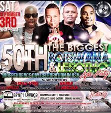 the biggest 50th botswana u0026 lesotho independence day celebration