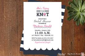nautical bridal shower invitations tying the knot nautical bridal shower invitations modern