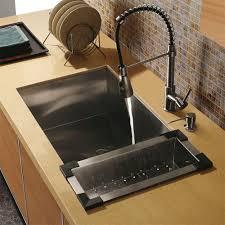 Faucet And Soap Dispenser Placement Vg15009 Vigo Vg15009 Undermount Stainless Steel Kitchen Sink