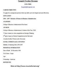 Example Cover Letter And Resume by Resume Sample From Resumebear Com Find Great Tips For Writing