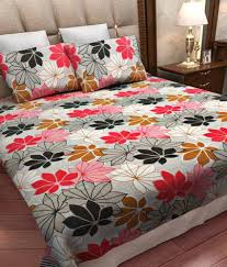 3d Print Bed Sheets Online India Home Candy Double Cotton Floral Bed Sheet Buy Home Candy Double