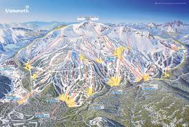 Map Of Colorado Ski Resorts by Mammoth Mountain Ski Area Trail Map Official Site