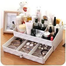 Makeup Organizer Desk Makeup Desk Organizer Layer White Makeup Cosmetic Organizer