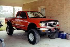 toyota tacoma jacked up 1995 toyota pickup information and photos zombiedrive