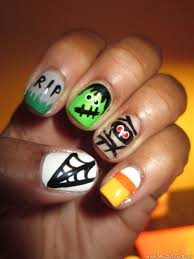 simple halloween nail art designs gallery nail art designs