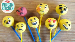 how to make emoji cake pops youtube