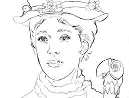14 kids coloring pages mary poppins print color craft