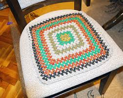 Crochet Armchair Covers Office Chair Cover Etsy