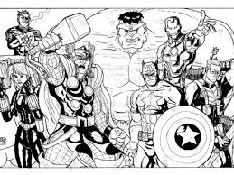 emejing avengers coloring pages images printable coloring pages