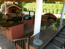 Quartz Countertops For Outdoor Kitchens - coffee brown outdoor kitchen countertops by superior granite