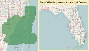 Clearwater Beach Florida Map by Florida U0027s 27th Congressional District Wikipedia