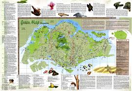 Brooklyn College Map Singapore Green Map Green Map System