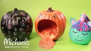 Michaels Crafts Halloween by Halloween Party Tricks 3 Easy No Carve Pumpkin Ideas Michaels