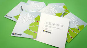 Business Printed Christmas Cards Customised Greeting Cards Melbourne Ideaproideapro
