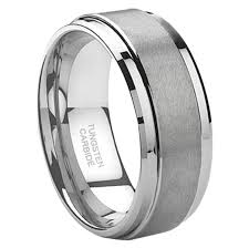 durable wedding bands tungsten rings durable yet mens wedding bands