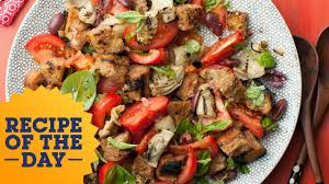 Ina Garten Panzanella Salad Recipe Of The Day Giada U0027s Italian Panzanella Salad Food Network