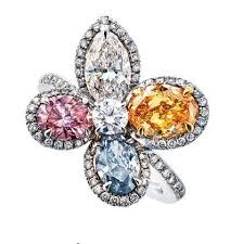 color diamonds rings images 53 best colored diamond engagement rings images jpg