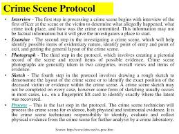 ppt crime scene basics powerpoint presentation id 973596