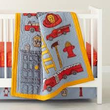 Firefighter Nursery Decor Crib Bedding Firefighters Colorful Rooms
