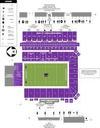 Kansas State Campus Map by Bill Snyder Family Stadium Kansas State Football Stadium
