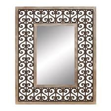 Mirror Decorating Ideas How To Decorating Remarkable Wood Wall Mirrors Decorative Design With