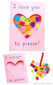 Handmade Decoration For Valentine S Day by Best 25 Valentine Crafts Ideas On Pinterest Kids Valentine
