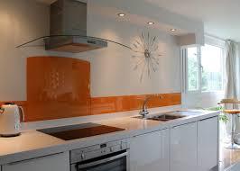 kitchen backsplash orange glass kitchen backsplash white glossy