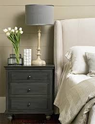 Dark Grey Nightstand Amazing Nightstand Ideas For Your Bedroom