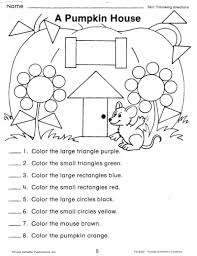 review color words and shapes while testing students u0027 ability to