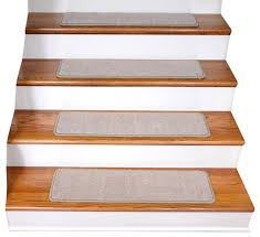 non slip tape free carpet stair treads set of 15 contemporary
