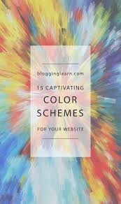 color palette ideas for websites 15 captivating color schemes for your website blogging as i learn it
