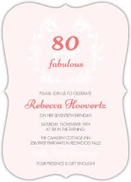 pastel watercolor fabulous 80th birthday invitation 80th