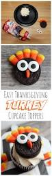 thanksgiving cupcake recipes ideas we heart parties blog easy thanksgiving oreo turkey cupcake toppers