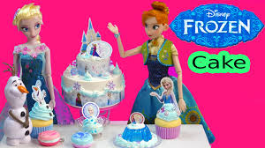 disney frozen whipple frosting 2 tiered birthday cake queen