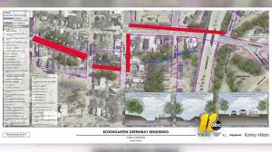 raleigh greenway map raleigh neighbors ready to fight path of proposed rosengarten