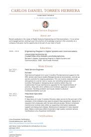 Resume About Me Examples by Technicien De Maintenance Sur Le Terrain Exemple De Cv Base De