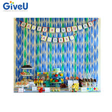 mint green streamers online shop giveu 8roll lot babyshower boy paper streamer