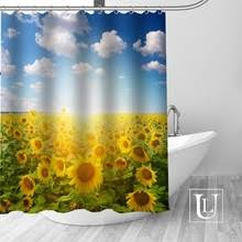 Badezimmer Unique Haken Badezimmer High Großhandel Sunflower Shower Curtain Hooks Gallery Billig Kaufen