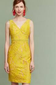 yellow dress gardenia lace corset dress yellow anthropologie