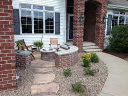 Landscaping Ideas Small Area Front Front Yard Sitting Area Before And After Yard Pinterest