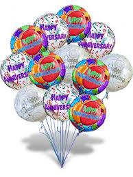 balloons delivery miami happy anniversary balloon air arrangement flowers store