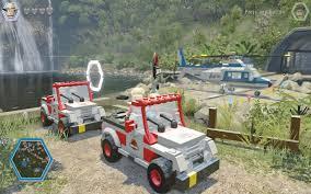 jurassic park car lego level 01 prologue walkthrough movie 1 lego jurassic world
