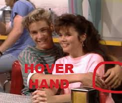 Saved By The Bell Meme - image 239667 hover hand know your meme