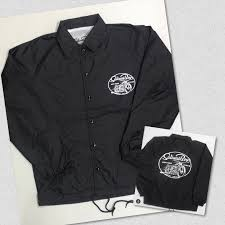 bicycle windbreaker windbreaker coaches jacket full button up black salinas boys