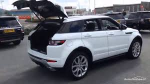 land rover range rover 2014 land rover range rover evoque sd4 dynamic lux white 2014 youtube