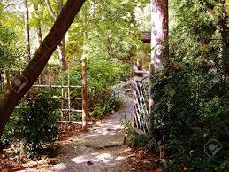 Japanese Style Garden by Japanese Style Garden Gate At Sarah P Duke Gardens Durham