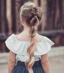 fille originale tresse enfant 70 idées géniales pour les petites demoiselles