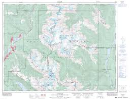 Whistler Canada Map by Buy Whistler Topographic Map Nts Sheet 092j02 At 1 50 000 Scale