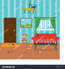 dirty room after party stock vector 516613924 shutterstock