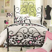 Black And White And Pink Bedroom Bedroom Pink Rose Wallpaper And Purple Accent Bedding Set For